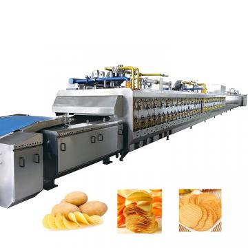 Factory Direct Sale Wave Shape Potato Chips Processing Production Line/Frozen French Fries Making Machine Price