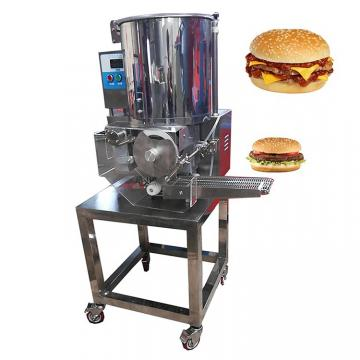 Soya Meat Vegan Burger Patty Making Machine