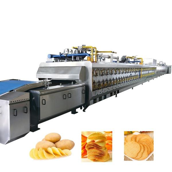 Factory Direct Sale Wave Shape Potato Chips Processing Production Line/Frozen French Fries Making Machine Price #1 image