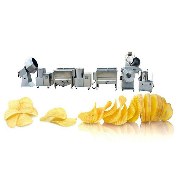 Factory Direct Sale Wave Shape Potato Chips Processing Production Line/Frozen French Fries Making Machine Price #3 image