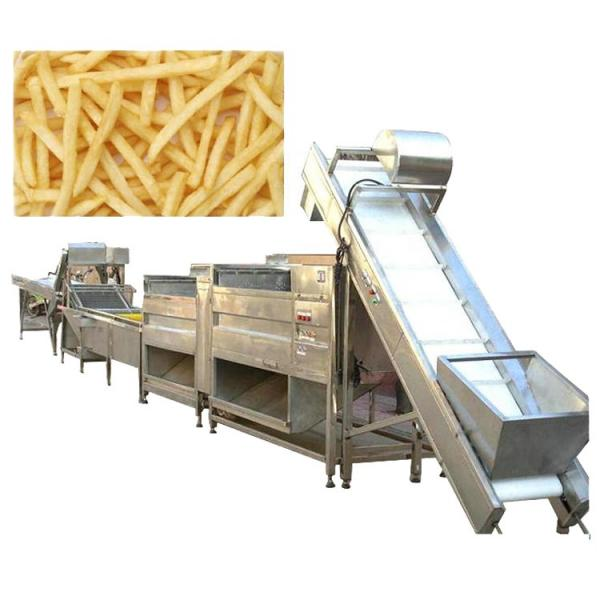 Factory Direct Sale Wave Shape Potato Chips Processing Production Line/Frozen French Fries Making Machine Price #2 image